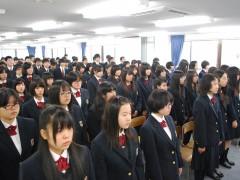 3学期始まる(^v^)