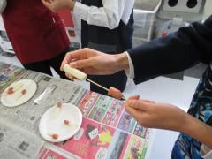 特別授業~チーズハットグづくり~